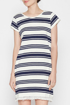 Joie Striped Casual Dress