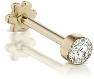 Maria Tash Yellow Gold Invisible Set Diamond Threaded Earring