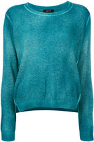 Avant Toi overdyed long sleeve sweater - women - Cashmere - S