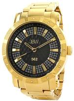 "JBW Men's ""562\"" Diamond Bracelet Watch, 50mm - 0.12 ctw"