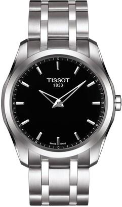 Tissot Men's Couturier Bracelet Watch, 39mm