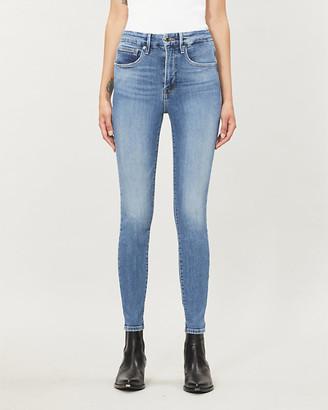 Good American Good Waist skinny high-rise jeans