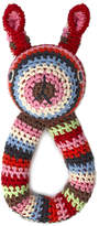Anne Claire Crochet Rabbit Ring Rattle - Multi