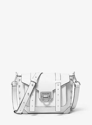 Michael Kors Manhattan Small Leather Crossbody Bag