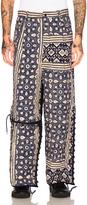 Craig Green Print Diamond Quilt Trousers