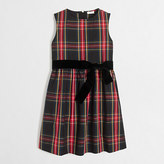 J.Crew Factory Girls' tartan plaid dress