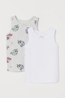 H&M 2-Pack Vest Tops