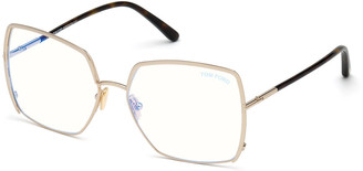 Tom Ford Square Metal Optical Glasses