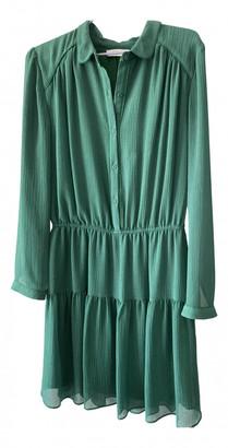 BA&SH Spring Summer 2019 Green Viscose Dresses