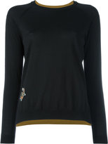 Etro embroidered flower jumper