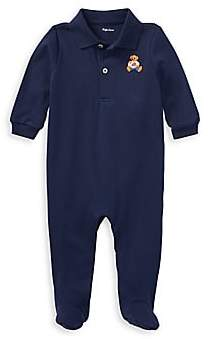 Ralph Lauren Baby Boy's Interlock Footie