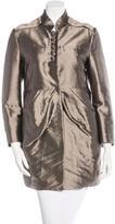 Valentino Pleated Short Coat