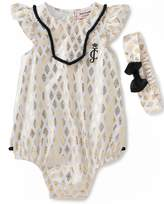 Juicy Couture Sunsuit W/ Headband
