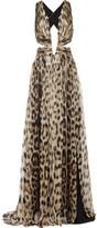 jennifer lopez  Who made  Jennifer Lopezs zebra print gown?