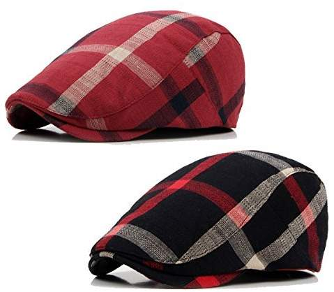 42bcf688f2795 Mens Plaid Ivy Caps - ShopStyle Canada