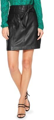 Parker Emmett Leather Skirt