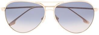 Victoria Beckham Aviator Gradient Sunglasses