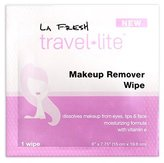 La Fresh Makeup Remover Cleansing Travel Wipes - Natural, Biodegradable, Waterproof, Facial Towelettes With Vitamin E - Individually Wrapped & Sealed Packets (200 count)
