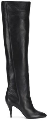 Saint Laurent Kiki Knee High Boots