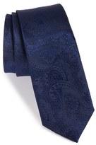 The Tie Bar Men's Textured Paisley Silk Tie