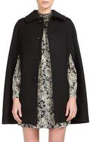 Saint Laurent Wool Cape Coat