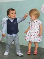 Vertbaudet Baby Girls Short-Sleeved Dress