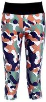JOYHY Women's Printed Active Workout Capris Leggings