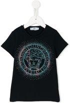 Young Versace rhinestone Medusa T-shirt