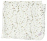Ralph Lauren Infant Girls' Floral Knit Blanket