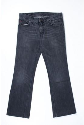 Gucci Grey Cotton Jeans
