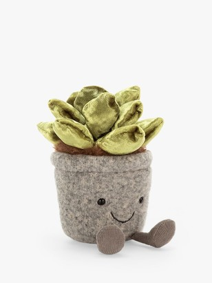 Jellycat Silly Succulent Jade Soft Toy, Small