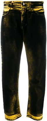 No.21 Washed Effect Straight-Leg Jeans
