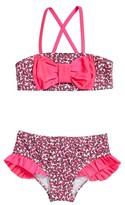 Hula Star Girl's Watermelon Two-Piece Swimsuit
