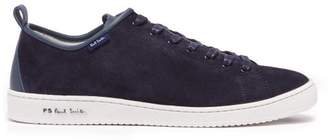 Paul Smith Miyata Low Top Suede Trainers - Mens - Blue