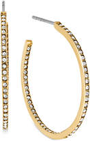 Michael Kors Crystal Pavé Small Hoop Earrings