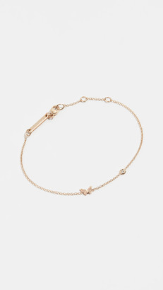 Zoë Chicco 14k Gold Itty Bitty Butterfly Bracelet