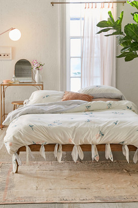 Urban Outfitters Meg Floral Knot Duvet Cover