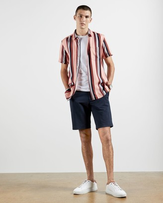 Ted Baker Lyocell Striped Shirt