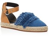 Rebecca Minkoff Vicky Denim Ankle Strap Espadrille Flats- 100% Exclusive