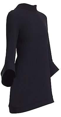 Brandon Maxwell Women's Bell Sleeve Mini Dress