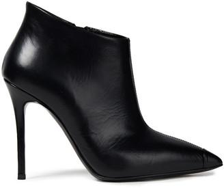 Giuseppe Zanotti Lucrezia 105 Leather Ankle Boots