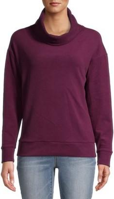 Time and Tru Women's Plush Sweatshirt