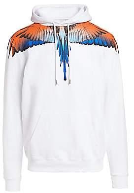 Marcelo Burlon County of Milan Men's Wings Cotton Hoodie