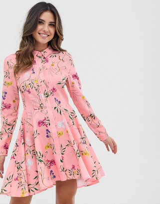 UNIQUE21 skater hem shirt dress