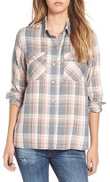 Roxy Women's 'Sunday Funday' Plaid High/low Shirt