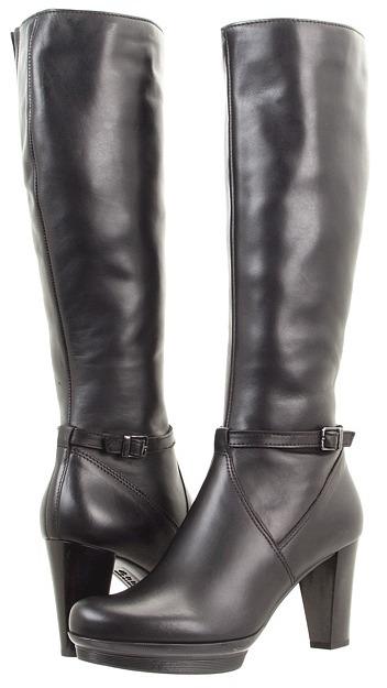La Canadienne Marseille (Black Leather) - Footwear