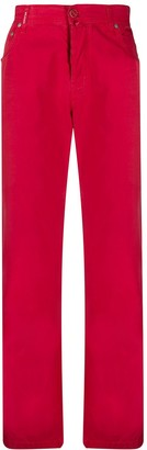 Kiton Straight-Leg Chino Trousers