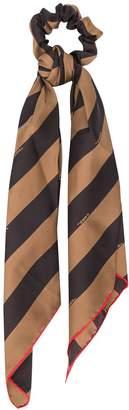 Fendi striped hair tie