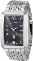 U.S. Polo Assn. Classic Men's USC80226 Analog-Quartz Silver Watch