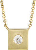 Tate Women's Square Charm Necklace